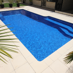 """Panama"" Fibreglass Pool Design in Perth 