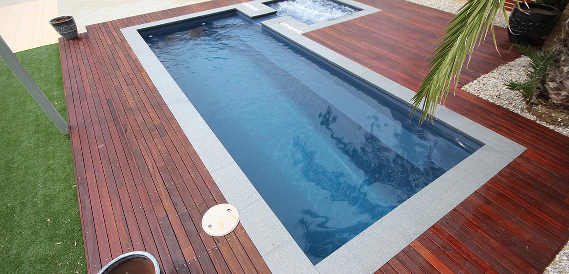 """Florentina"" Fibreglass Pool Design in Perth | Buccaneer Pools Western Australia"