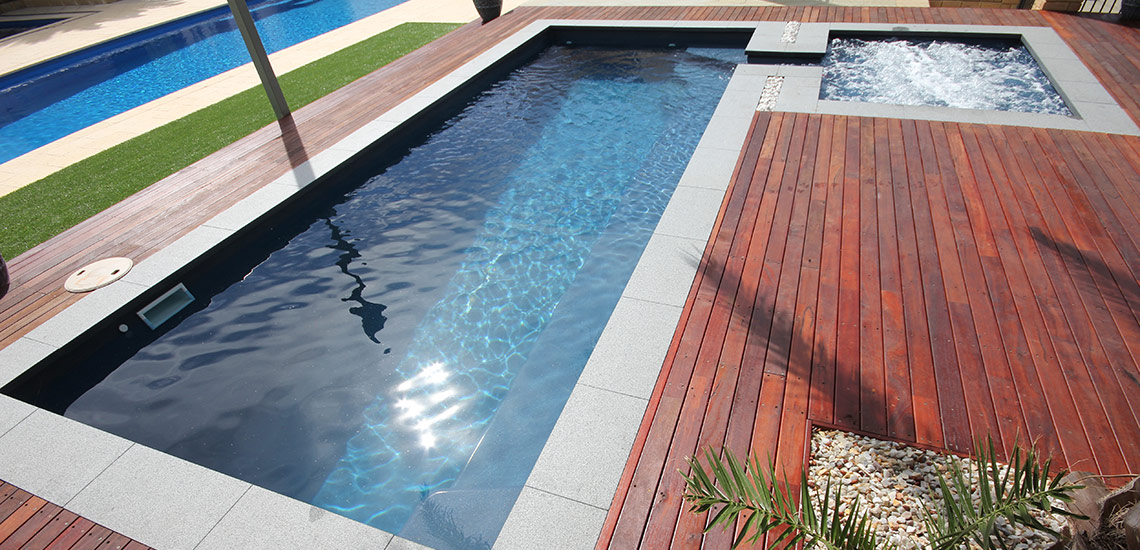 Florentina swimming pool x buccaneer pools for Garten pool 2 5m