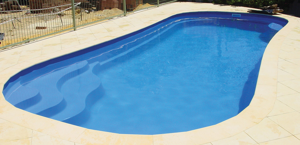 """Marina"" Fibreglass Pool Design in Perth 