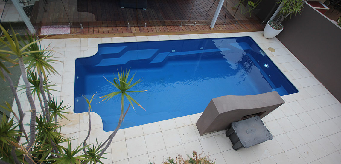 """Riviera"" Fibreglass Pool Design in Perth 