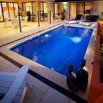 """Santa Fe"" Fibreglass Pool Design in Perth   Buccaneer Pools Western Australia"