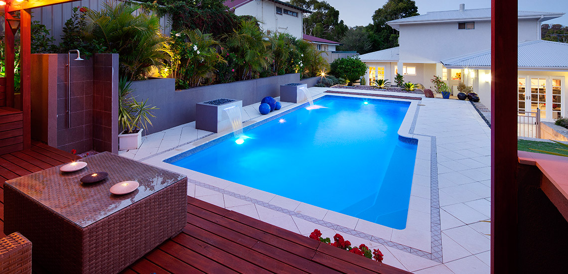 """Tasman"" Fibreglass Pool Design in Perth 