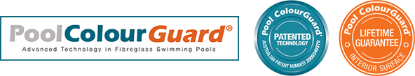 Pool ColourGuard | Advanced Technology in Fibreglass Swimming Pools | Patented Technology | Interior Surface Lifetime Guarantee