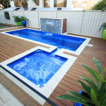 """Florentina"" Fibreglass Pool Design in Perth 
