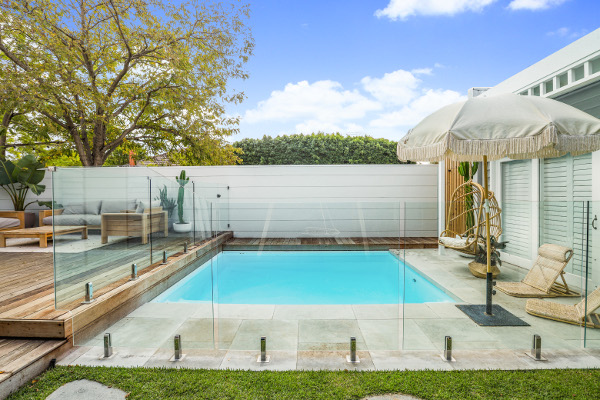 Exterior Design Consultation | Backyard Pool Area