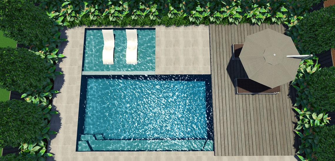 Aqua Ledge Swimming Pool