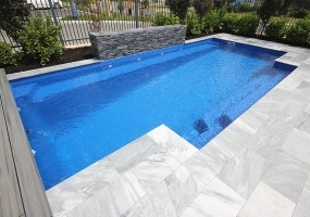 Castello Medium Fibreglass Pool - 7.5m x 3.6m | Colour : Twilight