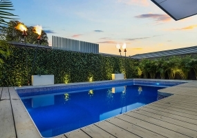 Cayman Medium Fibreglass Pool - 7.07m x 4m | Pool Colour : Twilight