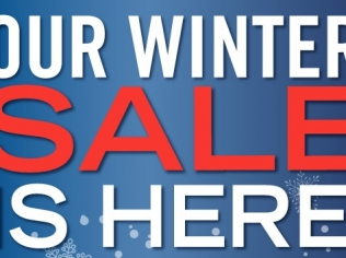 Winter is Here Sale Now On!