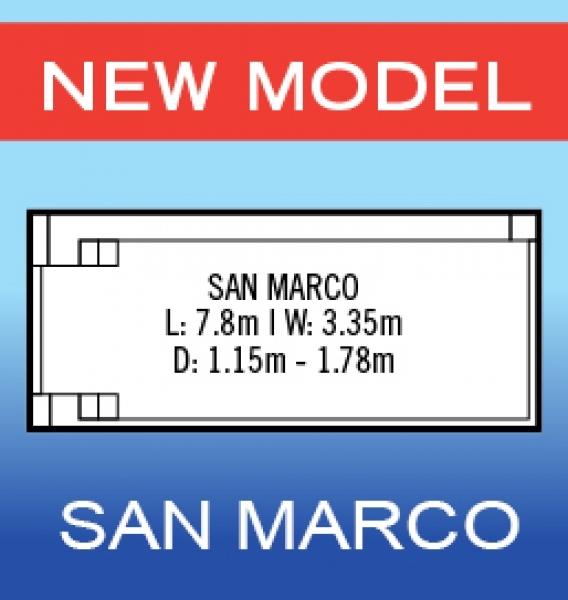 San Marco – 7.8m x 3.33m