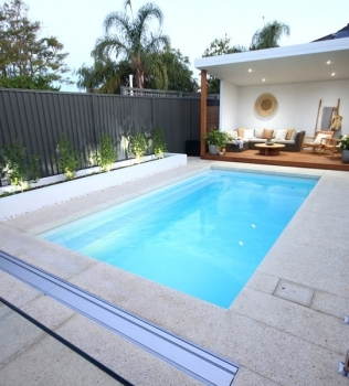 Going the extra mile with new pool colour trial