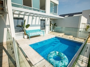 Courtyard Charm: The Appeal of Small Pools