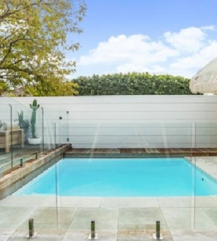 No shortage of artistic inspiration (Capri small pool design featured in The West)