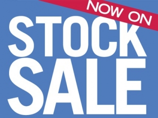 STOCK CLEARANCE SALE ON NOW!